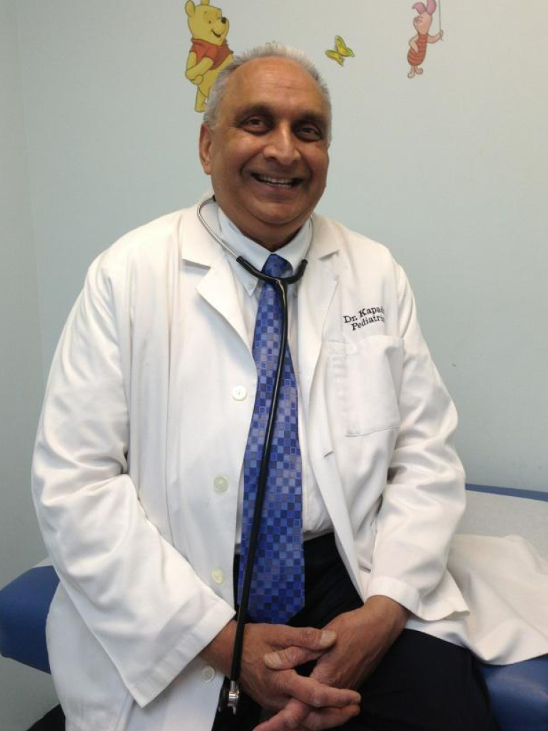 Dr. Milan R. Kapadia of Quakerbridge Pediatrics